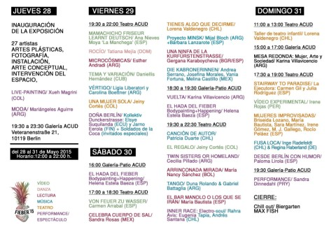 Programa FIEBER 2015 VERSION CORTA 2