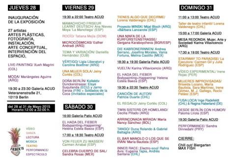 Programa FIEBER 2015 VERSION CORTA 2