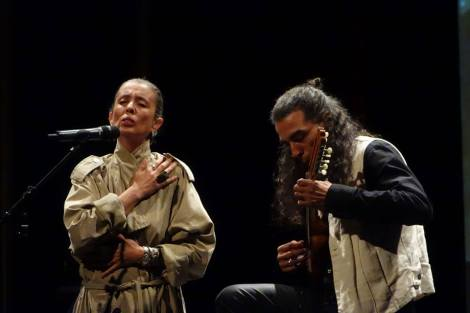 Duna Rolando, Gabriel Battaglia. Elena Tango-Theater, ufaFabrik, Noviembre2014.